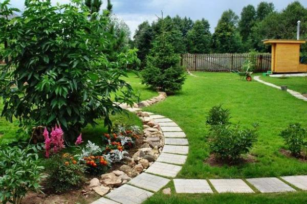25 yard landscaping ideas curvy