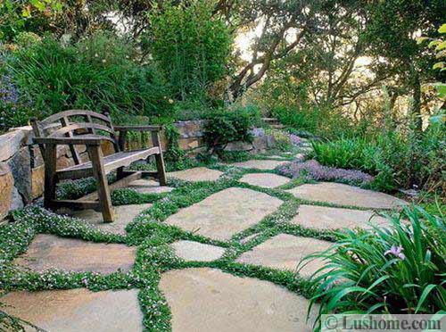 30 Stone Walkways And Garden Path Design Ideas