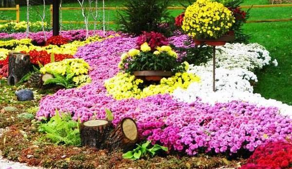 floral installations and landscaping