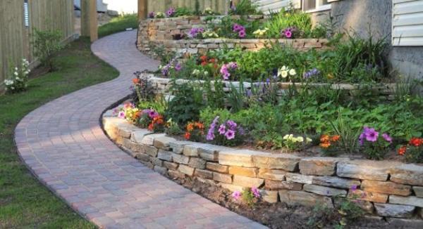 beautiful hill landscaping ideas