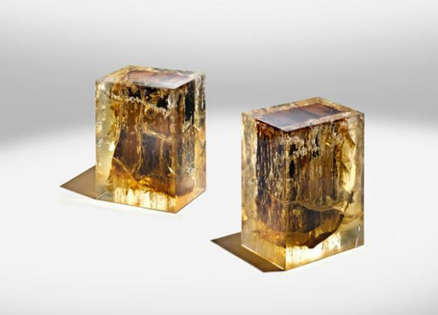 Encased in Epoxy Resin Wood Furniture Collection Unique