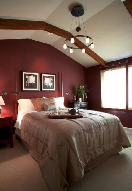 decorating ideas in living room chair contemporary marsala wine bedroom colors, modern ...