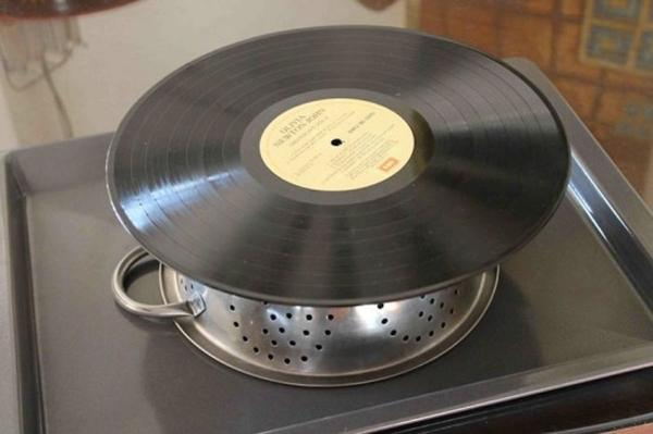 6 Plastic Recycling Ideas Turning Vinyl Records into Green Home Decorations