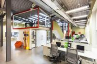 European Office Design Ideas, Creative Elements and Bright