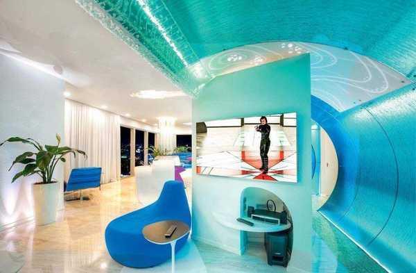 Ocean Waves In Modern Interior Design And Decor