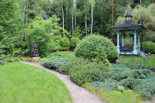 green garden design ideas celebrating