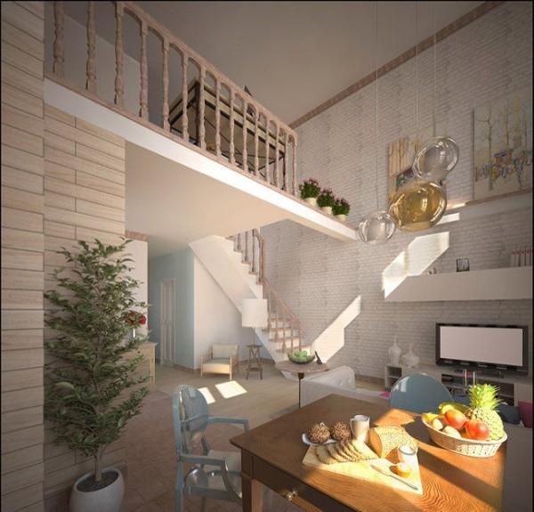 15 Loft Designs Adding Second Floor to Modern Interiors