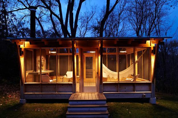 Screened Porch Storage Ideas