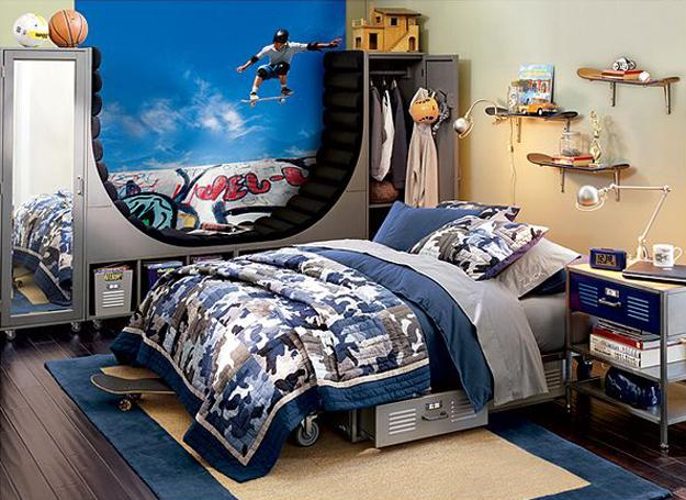 Designing or decorating a teen's room can be a bit tricky. 22 Teenage Bedroom Designs, Modern Ideas for Cool Boys