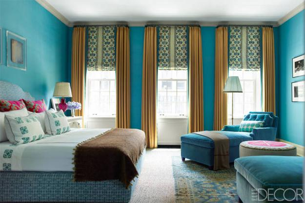 22 Ideas To Use Turquoise Blue Color For Modern Interior Design And Decor