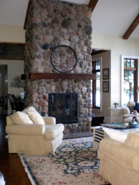 Close your eyes and yo. 25 Two Sided Modern Fireplaces Working as Beautiful Room