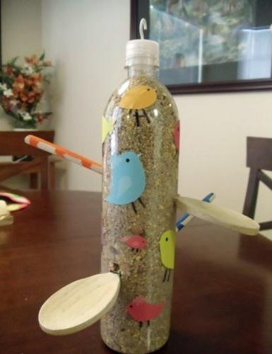 How To Recycle Plastic Bottles For Bird Feeders Creative