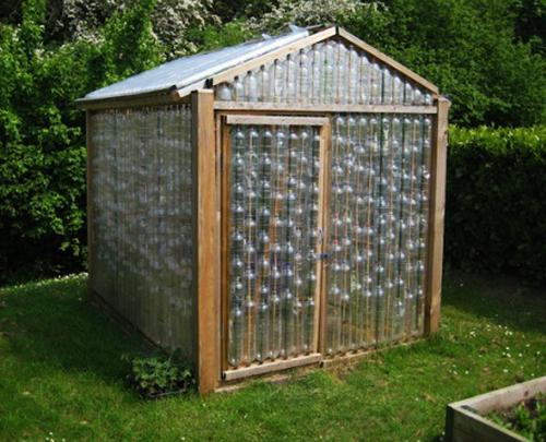 How to Recycle Plastic Bottles for Outdoor Home Decorating
