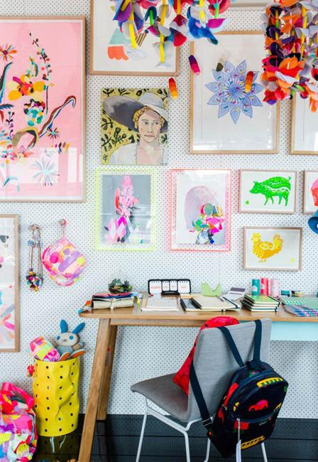 Fall Wallpaper Drawing 20 Bright Kids Room Decorating Ideas For Young Artists