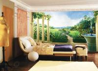 Fresco and Mural Art in Vintage Style Romanticizing Modern ...