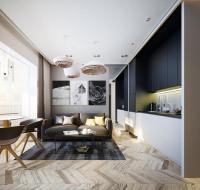 Modern Apartment Ideas, Single Person Studio Design with ...