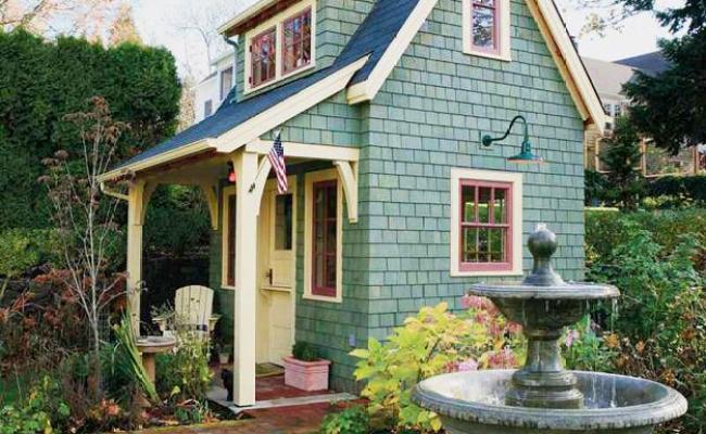 Beautiful Garden House Designs Adding Leaisure Of Studio