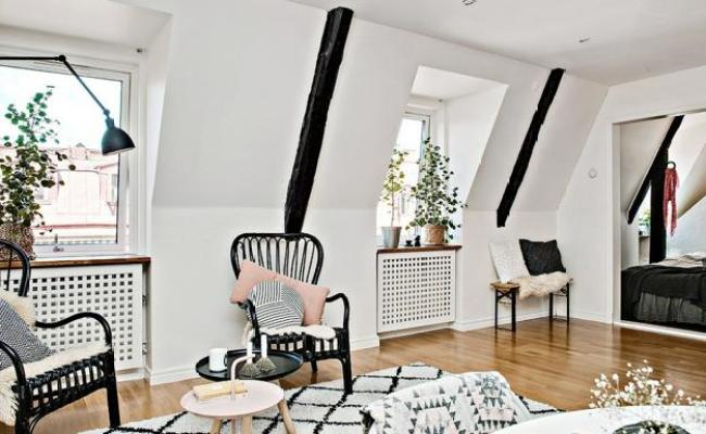 Black And White Decorating Ideas For Small Spaces In