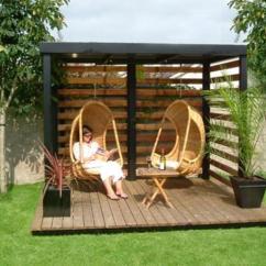 Swing Egg Chair Uk Kid Bean Bag Chairs Target Beautiful Gazebo Designs Creating Contemporary Outdoor Seating Areas