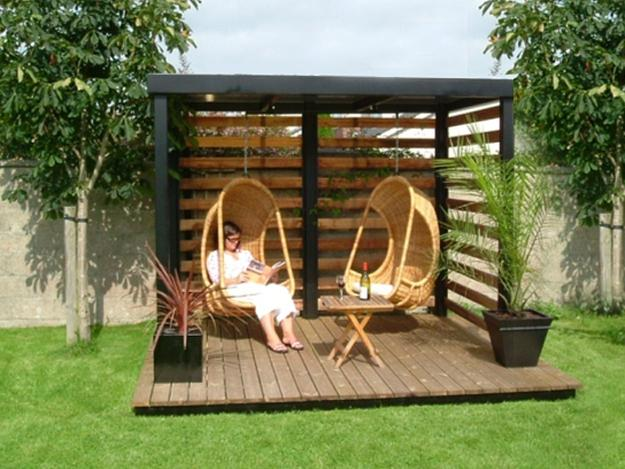 hanging egg chair uk white wooden folding chairs for weddings beautiful gazebo designs creating contemporary outdoor seating areas
