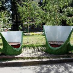 Unusual Outdoor Chairs Modway Office Creative Benches Garden Furniture Design Ideas For Modern Inspired By Cups