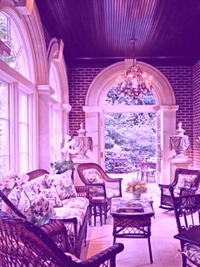 Wicker Furniture Adding Cottage Decor Feel to Modern ...