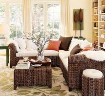 wicker furniture adding cottage