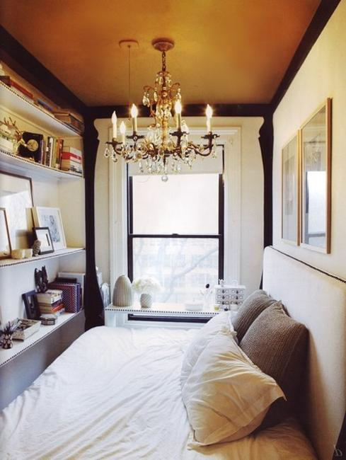 Place a sofa perpendicular in the room and put a console table or short cabinet against its back. Home Staging Tips and Interior Design Ideas for Narrow Small Spaces