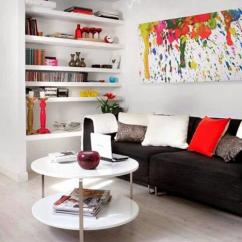 Interior Design Modern Small Living Room Orange Yellow And Brown Ideas 15 Space Saving For Rooms 10 Tricks To Maximize Black White Decorating With Red Color Accents