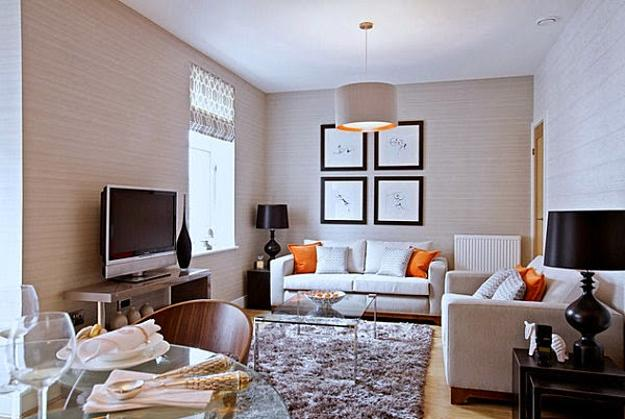 living room design small space pretty wall colors simple modern ideas for rooms to fool the eyes sofa slipcover in bright pink color white decorating