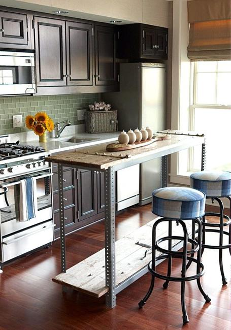 small kitchen island lights under cabinets 21 space saving alternatives for kitchens