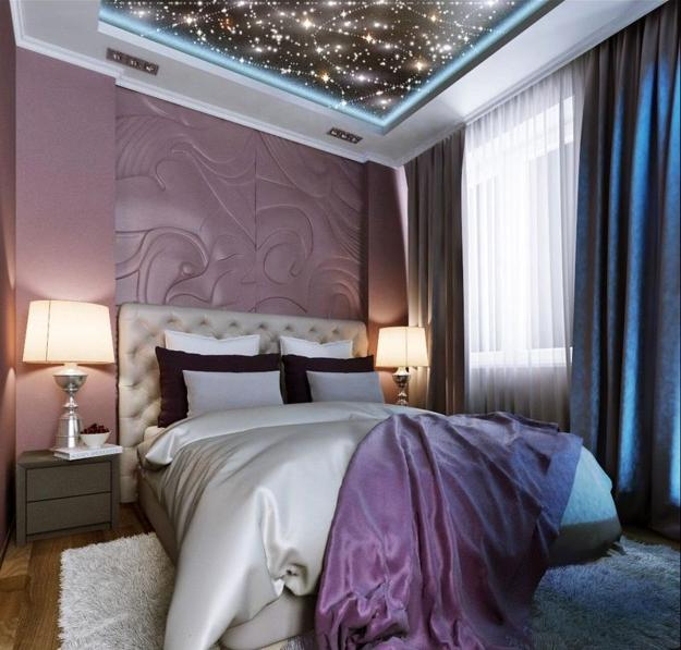 Create the bedroom of your dreams with the decorating ideas in this article. Mysterious Star Ceiling Designs Made with Stretch Ceiling