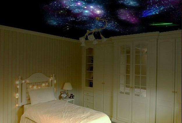 Mysterious Star Ceiling Designs Made With Stretch Ceiling