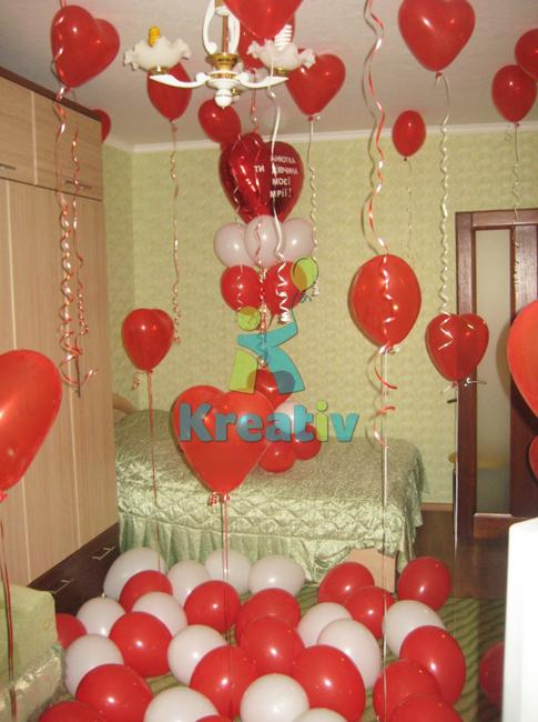 30 Balloons Valentines Day Ideas, Unique Home Decorating