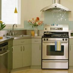 Kitchen Corner Sinks Unfinished Cabinets Modern Kitchens With Space Saving And Ergonomic Small Design Sink Stainless Steel Appliances