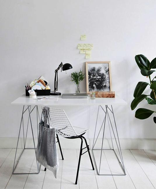 Fall Minimalist Wallpaper Black N White Decorating With Color For Home Office