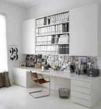 Black n White Decorating with Color for Home Office ...