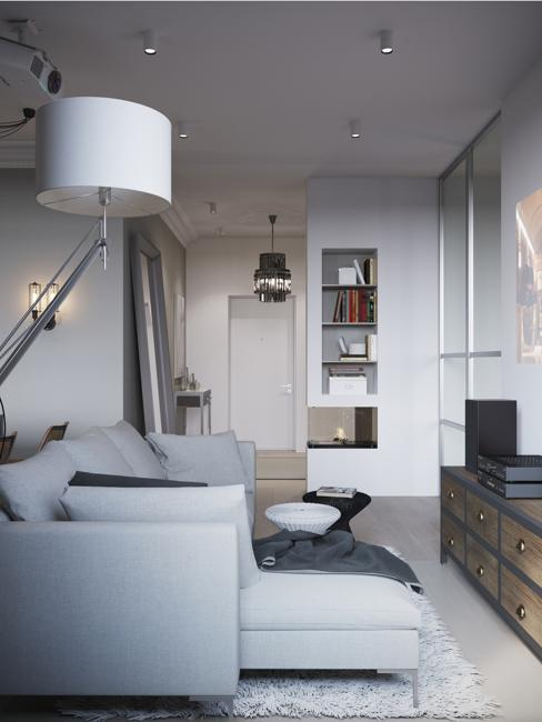 painting living room off white pictures of rooms with grey couches 6 home staging tips for decorating small apartments to ...