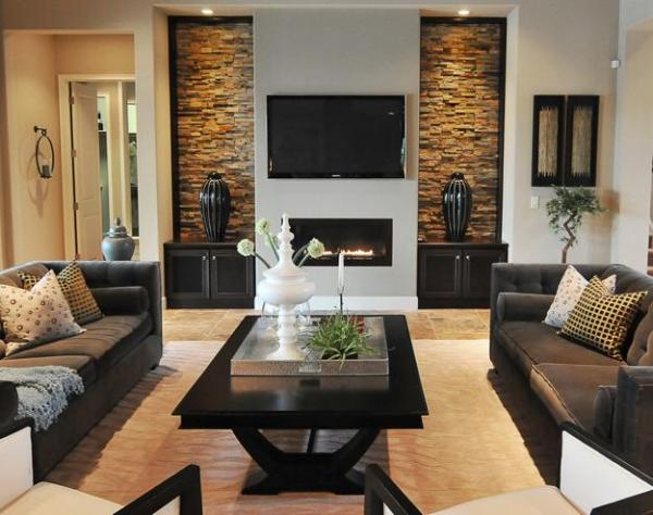 modern living room design ideas TV and Furniture Placement Ideas for Functional and Modern Living Room Designs