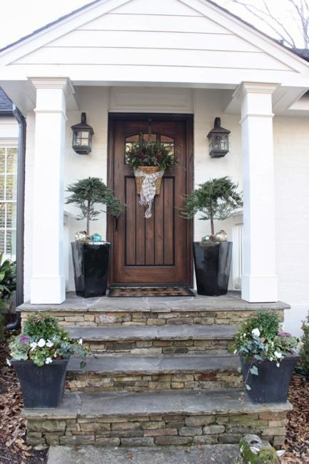 Entrance Staircase Designs To Beautify Homes And Improve Curb Appeal | Front Door Stairs Design | Main Door Stair | 2Nd Floor | Villa | Brick | Residential