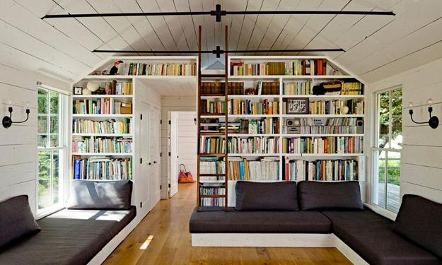 25 Modern Home Library Designs With Ladders And Stairs   Ladder Design In Home   Unusual   Spiral   Steel   Iron   Easy