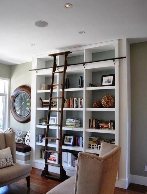 25 Modern Home Library Designs With Ladders And Stairs | Modern House Ladder Design | Inside Outside | Metal Balustrade | Loft | Outdoor Balcony | Beautiful
