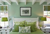 Natural Green Color Schemes for Modern Bedroom and ...