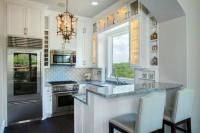 Peninsula Kitchen Designs with Integrated High Seating ...