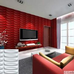 Paint Color Ideas Living Room Accent Wall Small With Fireplace 3d Designs In Bright Colors, Modern Panels Show ...