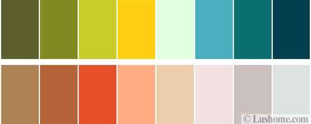 Quick Guide to Selecting Mid Century Modern Colors for