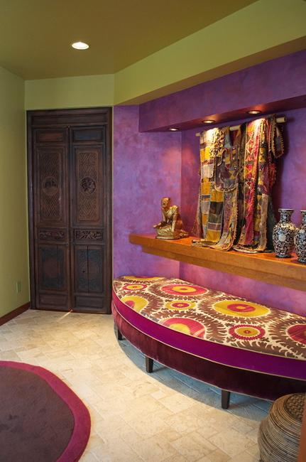 Stylish Fall Color Schemes For Interior Design And Decorating Purple Colors