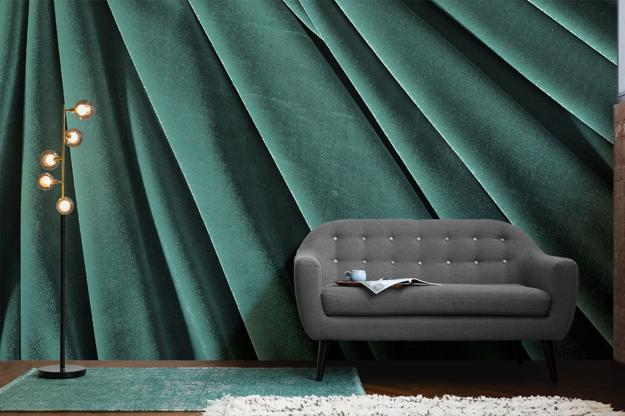 Fall Succulent Wallpaper Opulent Velvet Wall Decoration Ideas Marry Luxury And