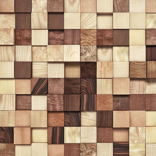Wood Kitchen Walls, Modern Kitchen Design Ideas
