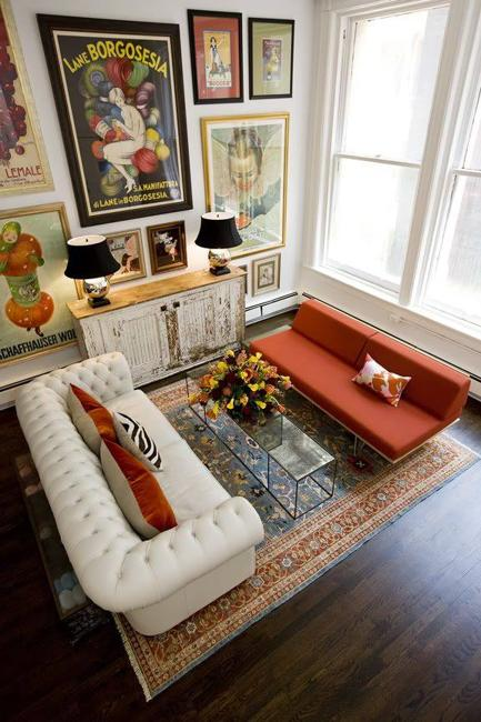 Spacious And Cozy Living Room Designs